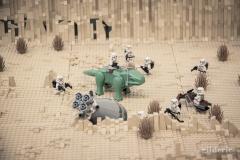 Stormtroopers sur Tattoine (Star Wars en Lego, FACTS 2014) - Photo : Gilderic
