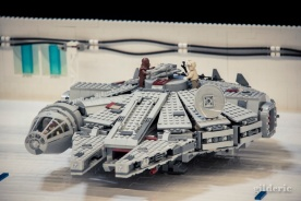 Le Millenium Falcon (Star Wars en Lego, FACTS 2014) - Photo : Gilderic