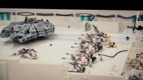 Bataille sur Hot (Star Wars en Lego, FACTS 2014) - Photo : Gilderic