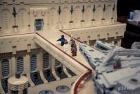 Millenium Falcon et Cité des Nuages (Star Wars en Lego, FACTS 2014) - Photo : Gilderic