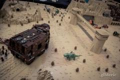 Tattoine (Star Wars en Lego, FACTS 2014) - Photo : Gilderic