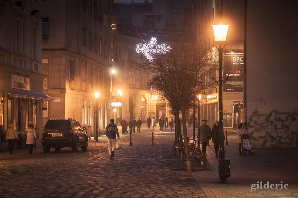 Les lumières de Noël de Bratislava - Photo de Gilderic