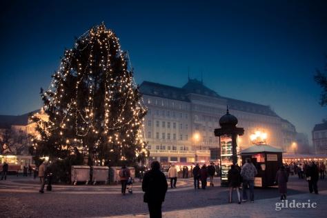 Les lumières de Noël de Bratislava