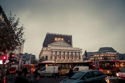 Opéra royal- Liège au matin