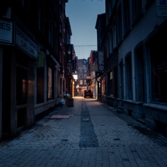 Liège au petit matin