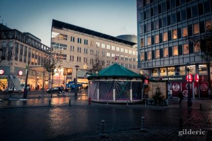Place de la République française - Liège au matin