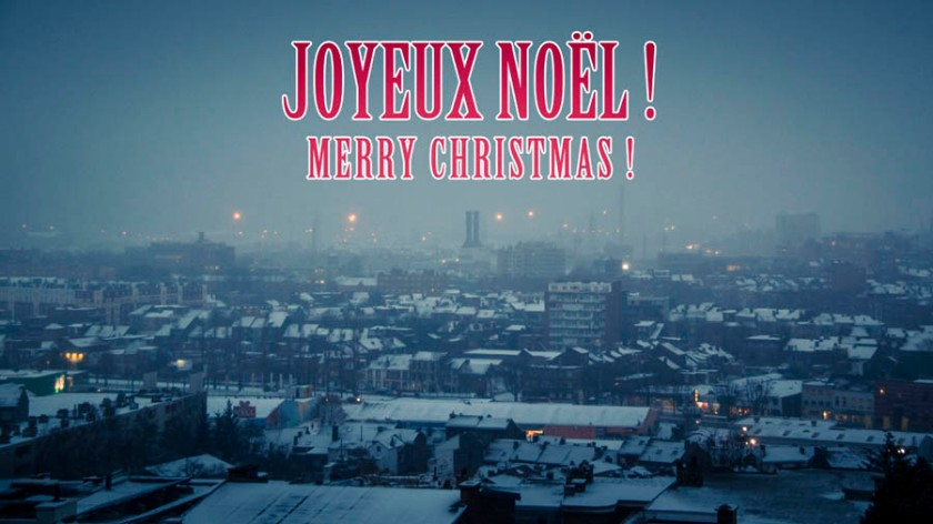 Joyeux Noël - Merry Christmas (from Liege) -