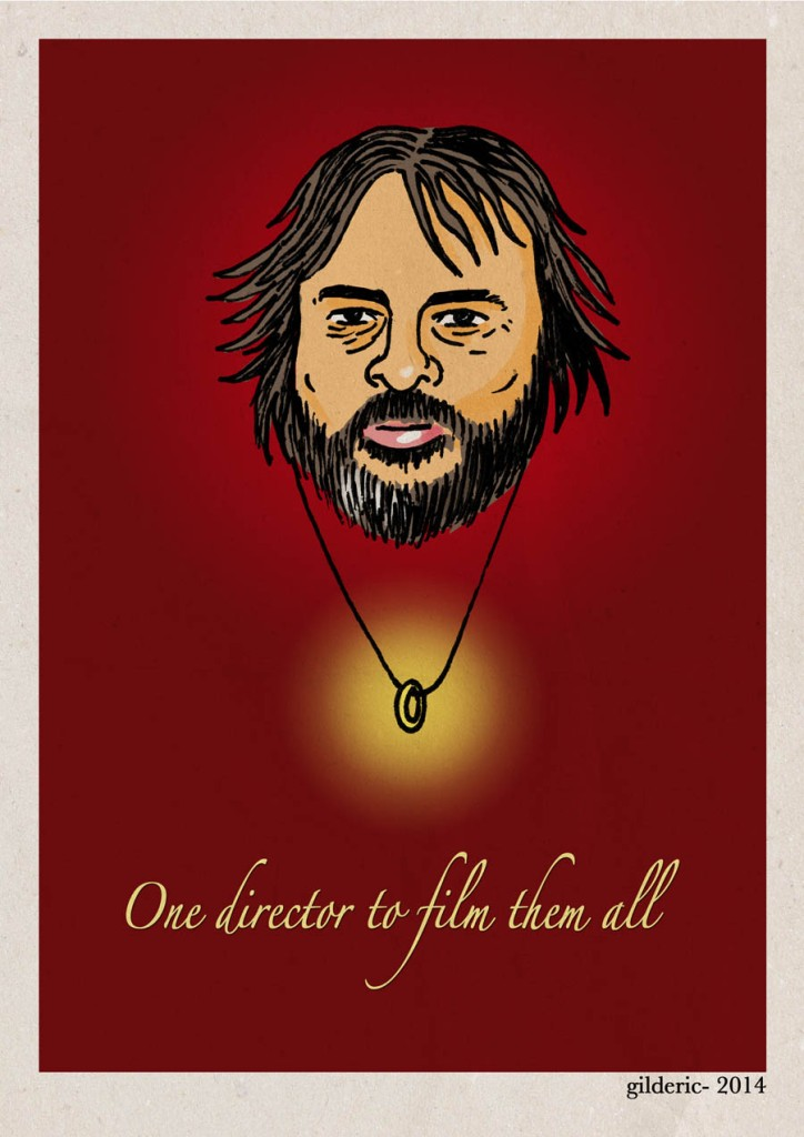 Peter Jackson - A director to film them all -  Dessin : Gilderic