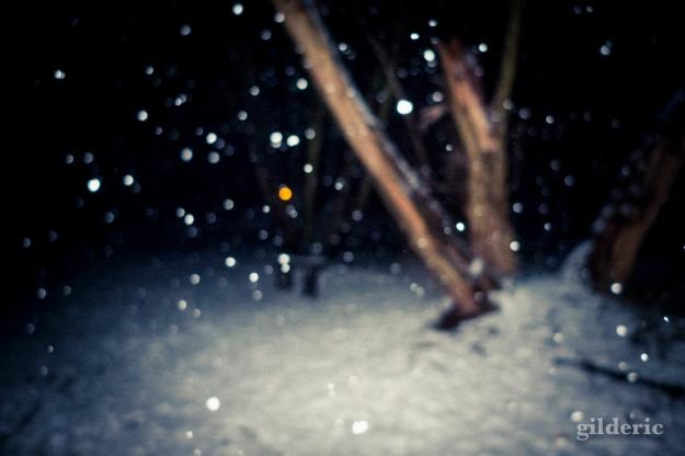 Photographier la neige (la nuit) - Photo : Gilderic