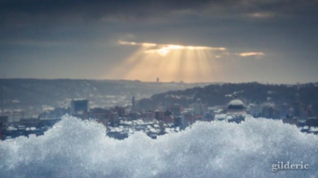 Photographier la neige (Liège) - Photo : Gilderic