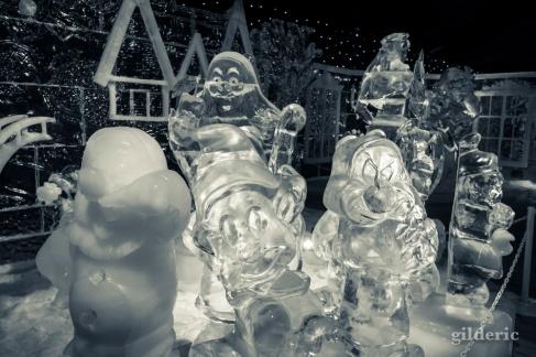 Nains de Blanches Neige - Disneyland Ice Dreams - Photo : Gilderic