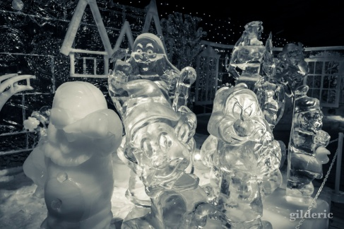 Nains de Blanches Neige - Disneyland Ice Dreams - Photo : Gilderic