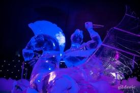 Hercule et Pégase - Disneyland Ice Dreams - Photo : Gilderic