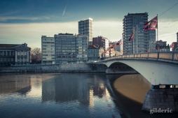 Un matin calme à Liège