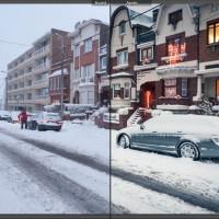 Comment photographier la ville ? Episode 5 : Sous la neige