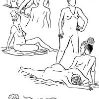 Des visages, des figures XIX : Comment dessiner le nu ?