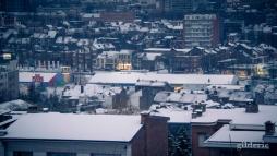 Winter Blues (Liège dans la neige) - Photo : Gilderic
