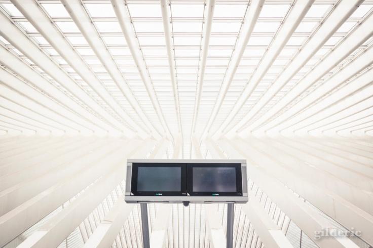 Gare de Liège-Guillemins - Comment photographier le futur ?