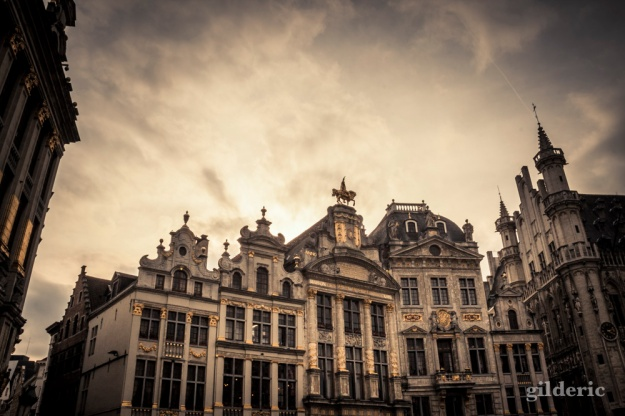 La Grand Place of Brussels (Belgium) - Photo de Gilderic