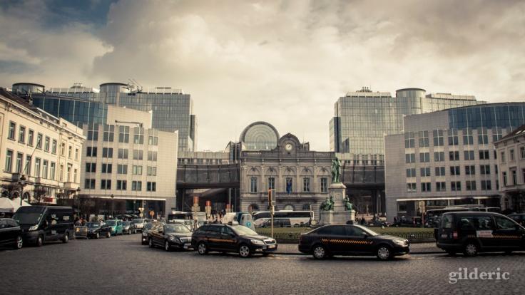Gare Léopold et Parlement Européen - Bruxelles