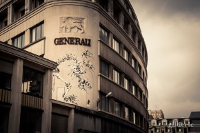 Generali Graffiti - Bruxelles - Photo : Gilderic