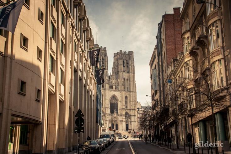 Cathédrale Saints Michel et Gudule, Bruxelles - Photo : Gilderic