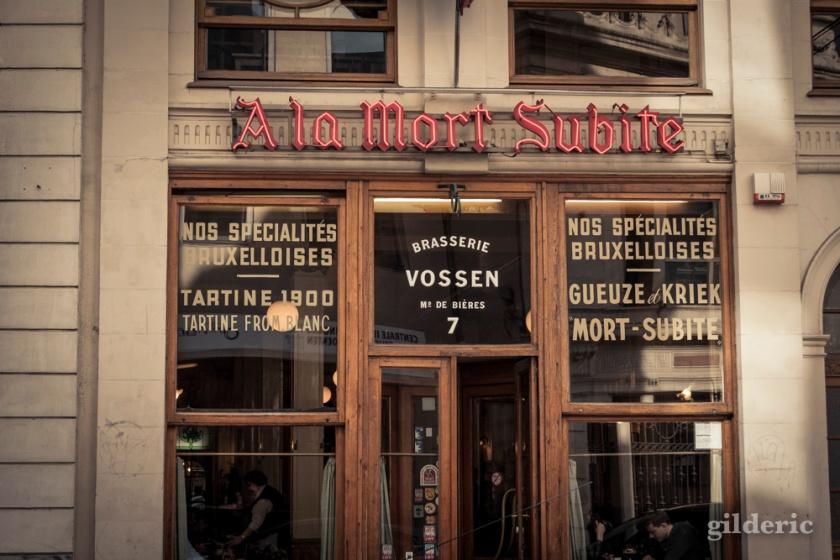 A la Mort Subite (Café) - Bruxelles - Photo : Gilderic