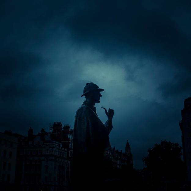 Sherlock Got The Blues (Baker Street, London)