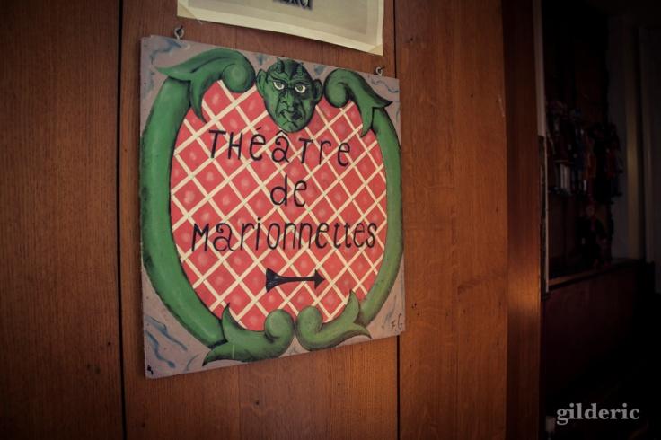 Théâtre de Marionnettes, Musée de la vie wallonne, Liège :  Photo : Gilderic