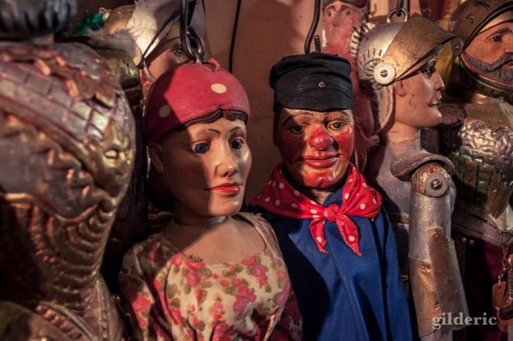 Tchantchès et Nanesse (marionnettes liégeoises)