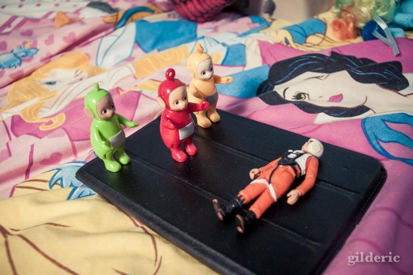 Toys : Luke Skywalker et les Teletubbies