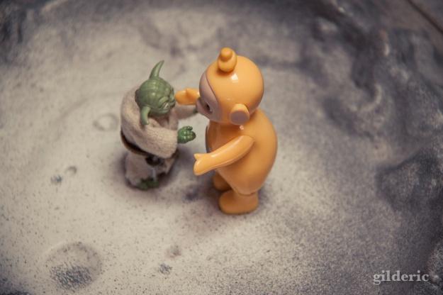 Toys : Yoda et les Teletubbies3