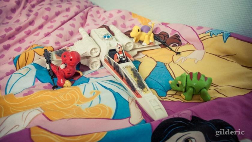 Toys : Luke Skywalker contre les dinosaures