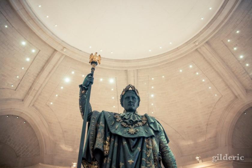 Napoléon Empereur, statue (Palais des Beaux-Arts de Lille) - Photo : Gilderic