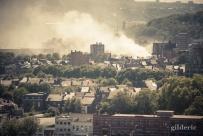 Fumée sur Liège - Photo : Gilderic