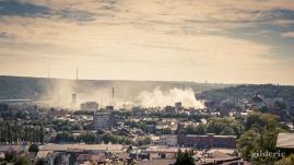 Incendie sur la ville - Photo : Gilderic