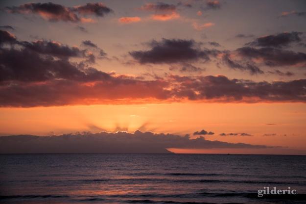 Coucher de soleil aux Canaries - Photo : Gilderic