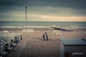 Photographier la mer avec romantisme (Blankenberge, Mer du Nord) - Photo : Gilderic