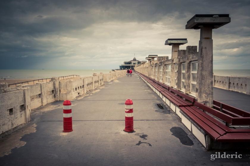Perspective sur le Pier (Blankenberge, Belgique) - Photo : Gilderic