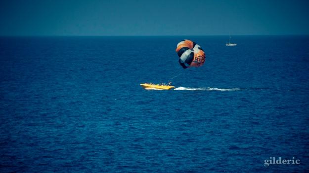 Sport extrême sur la mer (Tenerife)