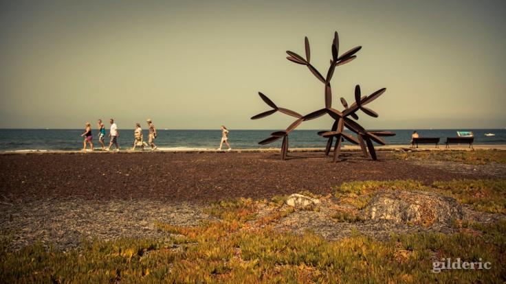 Sculpture à la mer (Playa de Las Americas, Tenerife) - Photo : Gilderic