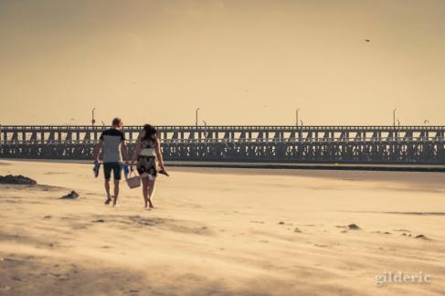 Du vent sur la plage (Blankenberge, Belgique) - Photo : Gilderic