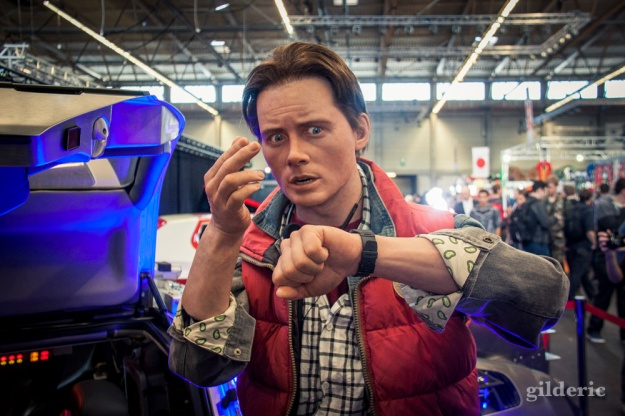 Marty McFly (Back To The Future) - FACTS 2015 - Photo : Gilderic