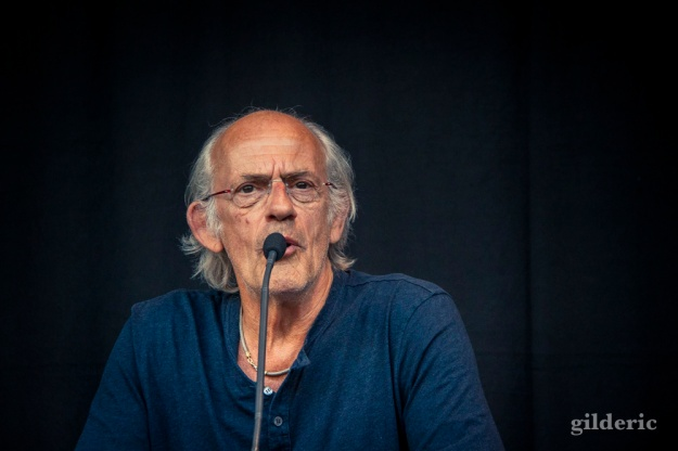 Christopher Lloyd (Doc Brown) - FACTS 2015 - Photo : Gilderic