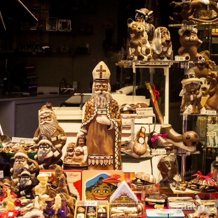 Saint-Nicolas en chocolat (Bruges) - Gilderic