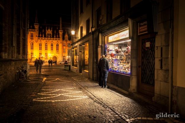 Chocolatier à Bruges - Photo : Gilderic