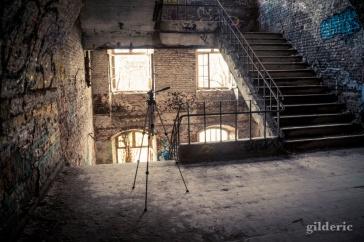 Le trépied du photographe - Fort de la Chartreuse