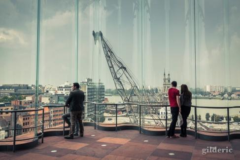 Le panorama du MAS Musée (Anvers)