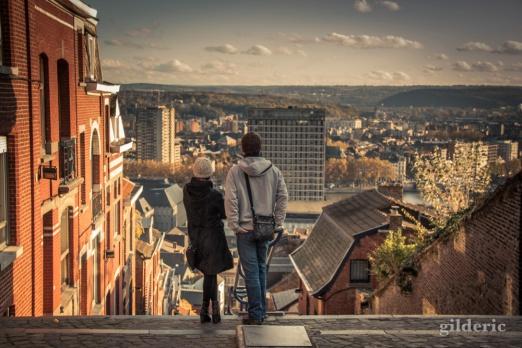 Couple - Montagne de Bueren (Liège)