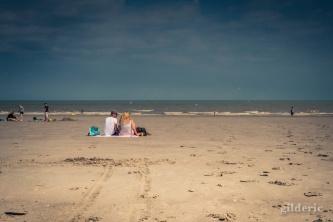 Amour sur la plage (Blankenberge)
